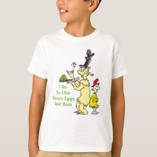 Green Eggs and Ham  Joey  Sam_I_Am T_Shirt