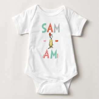 Green Eggs and Ham | Sam-I-Am Baby Bodysuit