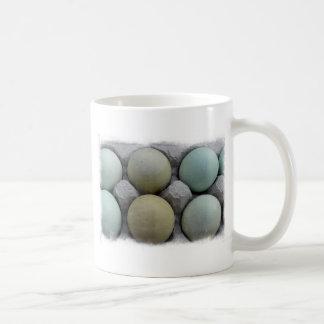 Green Eggs Classic White Coffee Mug