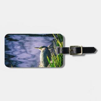 Green Egret Bag Tag
