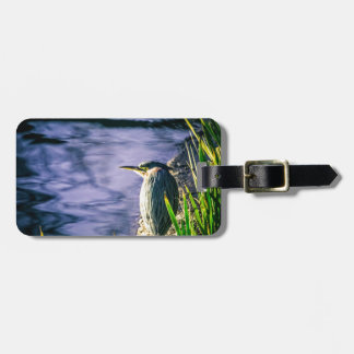 Green Egret Tag For Bags