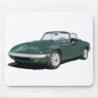 Green Elan S4 Mouse Pad