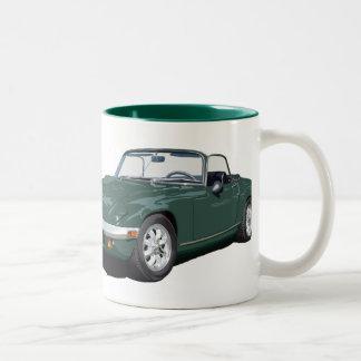 Green Elan S4 Two-Tone Coffee Mug