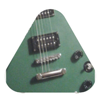 green electric guitar speaker