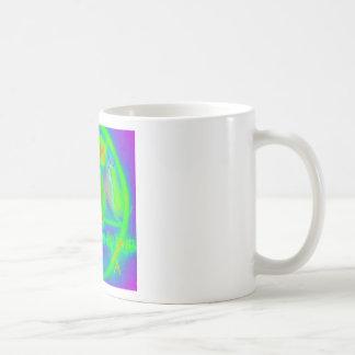 Green Electric Penatgram Coffee Mug