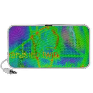 Green Electric Penatgram iPhone Speaker