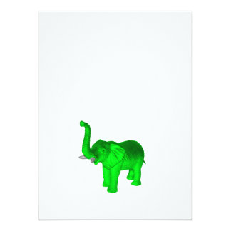 Green Elephant Card