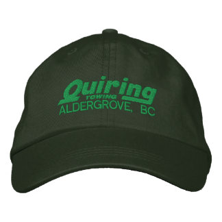 Green Embroidered Cap