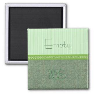Green Empty Fill Dishwasher Magnet