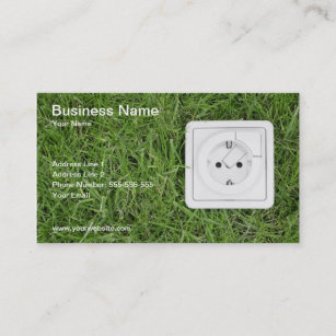 Renewable energy business cards templates zazzle green energy business card reheart Choice Image