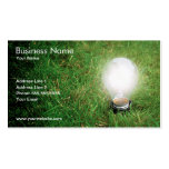 Green Energy Business Card Template