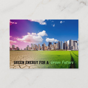 Green energy business cards templates zazzle green energy business cards reheart Choice Image