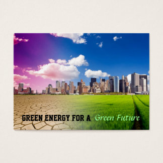 Green Energy Business Cards