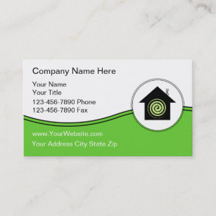 Renewable energy business cards zazzle green energy business cards reheart