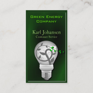 Environmental business cards templates zazzle green energy environmental business card colourmoves