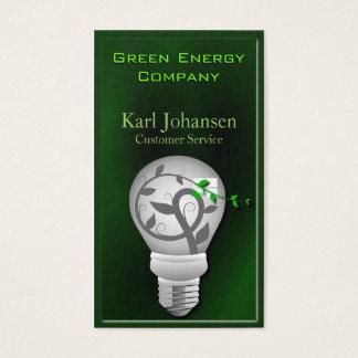 Green Energy Environmental Business Card