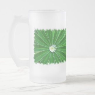 Green Energy Frosted Beer Mug