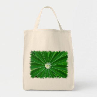 Green Energy Grocery Tote Bag