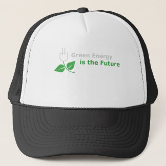 Green Energy is the Future Trucker Hat
