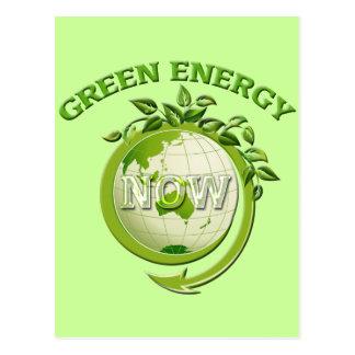 GREEN ENERGY NOW POSTCARD