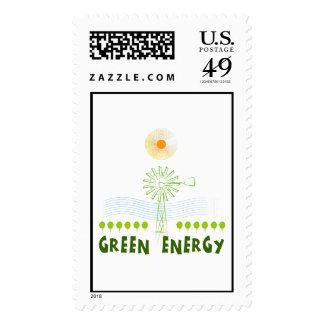 Green Energy Postage
