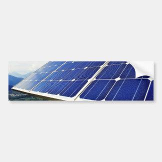 Green Energy Solar Power Bumper Sticker