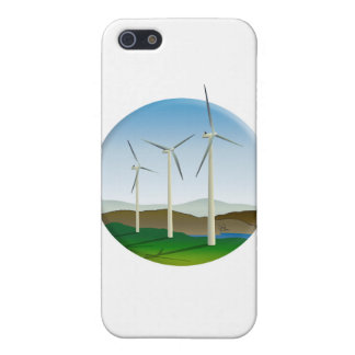 Green Energy Wind Turbine Case For iPhone SE/5/5s