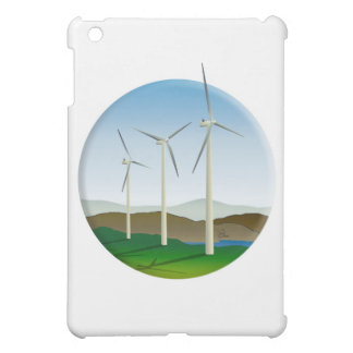 Green Energy Wind Turbine iPad Mini Cover