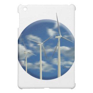 Green Energy Wind Turbine iPad Mini Covers