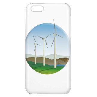 Green Energy Wind Turbine iPhone 5C Case