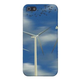 Green Energy Wind Turbine iPhone SE/5/5s Case