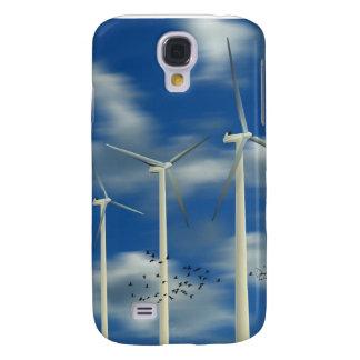 Green Energy Wind Turbine Samsung Galaxy S4 Cover