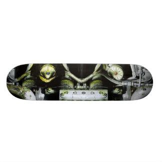 Green Engine Skateboard Deck