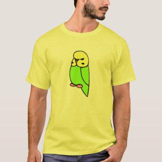 Green English Budgie T-Shirt