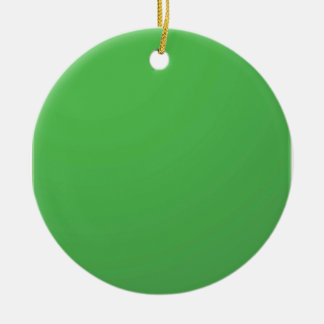 GREEN Environment : Buy BLANK or ADD TXT IMAGE Christmas Tree Ornaments
