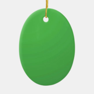 GREEN Environment : Buy BLANK or ADD TXT IMAGE Christmas Ornament