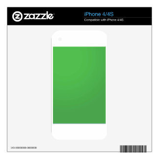 GREEN Environment Buy BLANK or ADD TXT IMAGE Skin For iPhone 4