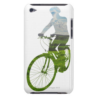 green, environmentally friendly transport barely there iPod covers