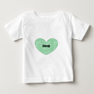 Green Envy Heart T-shirt