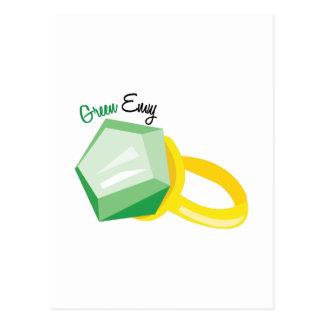 Green Envy Postcard