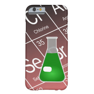 Green Erlenmeyer (Conical) Flask Chemistry Barely There iPhone 6 Case