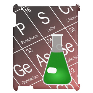 Green Erlenmeyer (Conical) Flask Chemistry Cover For The iPad