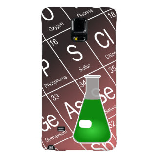Green Erlenmeyer (Conical) Flask Chemistry Galaxy Note 4 Case
