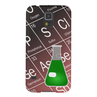 Green Erlenmeyer (Conical) Flask Chemistry Galaxy S5 Case