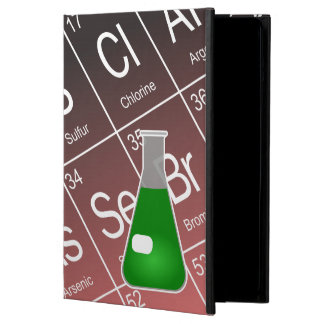 Green Erlenmeyer (Conical) Flask Chemistry iPad Air Covers
