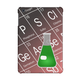 Green Erlenmeyer (Conical) Flask Chemistry iPad Mini Retina Covers