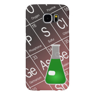 Green Erlenmeyer (Conical) Flask Chemistry Samsung Galaxy S6 Case