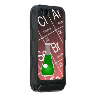Green Erlenmeyer (Conical) Flask Chemistry Waterproof iPhone SE/5/5s Case
