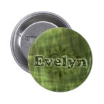 Green Evelyn Pin