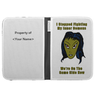 Green Evil Alien Woman Same Side Now Kindle Cover